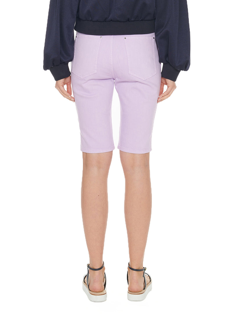 Garment Dyed Trish Short Lavender-2