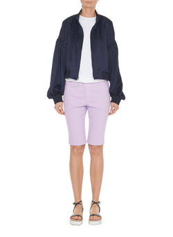 Garment Dyed Trish Short Lavender-1