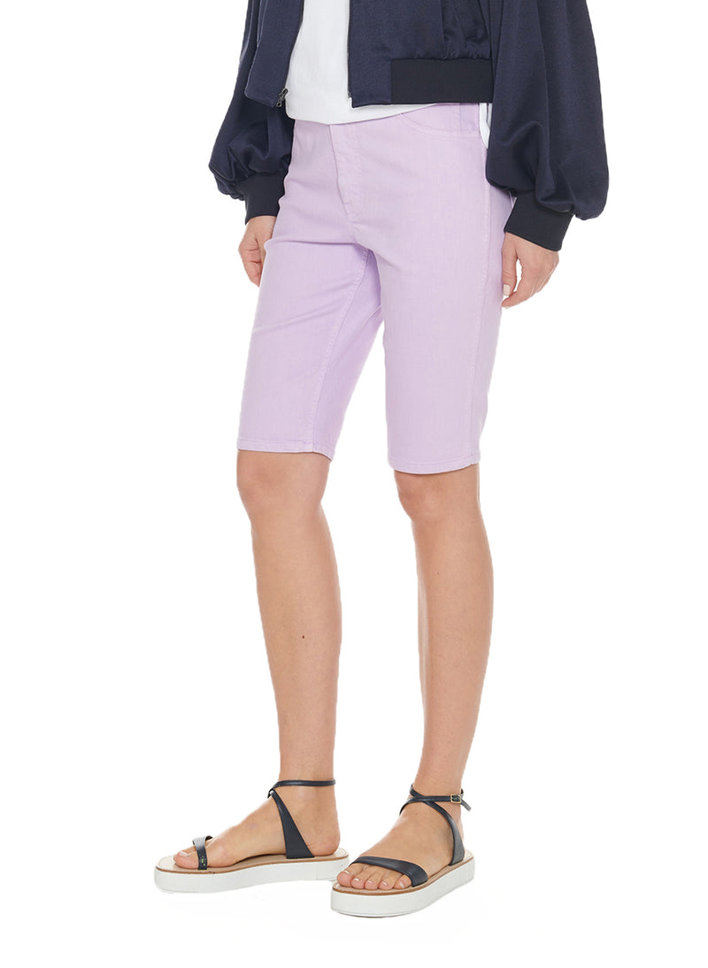 Garment Dyed Trish Short Lavender-3