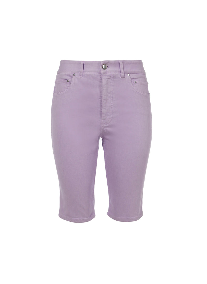Garment Dyed Trish Short Lavender-4