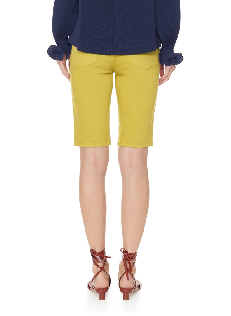 Garment Dyed Trish Short Mustard-6