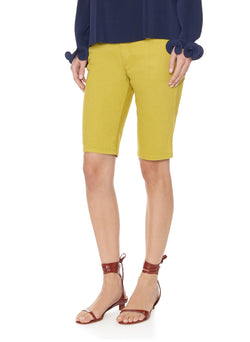 Garment Dyed Trish Short Mustard-7