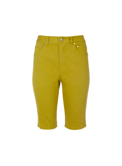 Garment Dyed Trish Short Mustard-8
