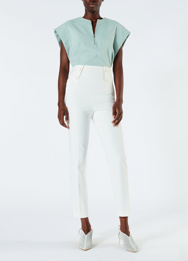 티비 바지 Tibi Anson Stretch Tailored Pants