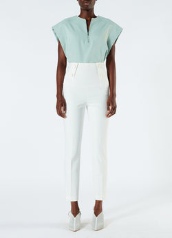 Anson Stretch Tailored Pants Ivory-4