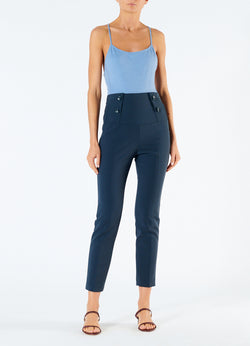 Anson Stretch Tailored Pants Prussian Blue-1