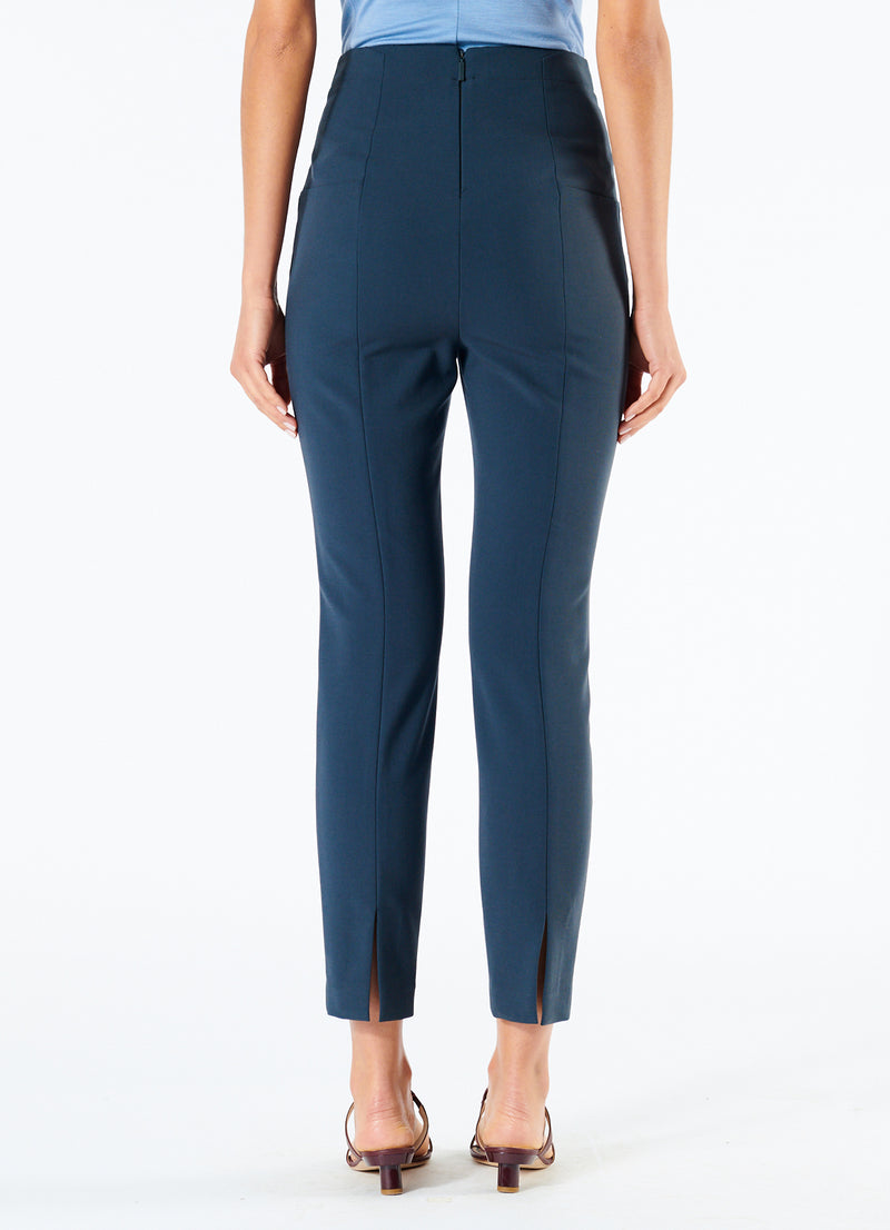 Anson Stretch Tailored Pants Prussian Blue-3