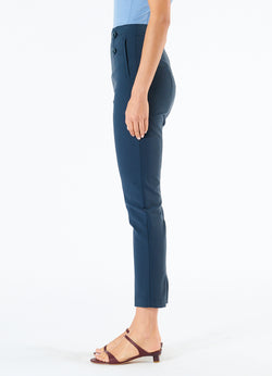 Anson Stretch Tailored Pants Prussian Blue-6