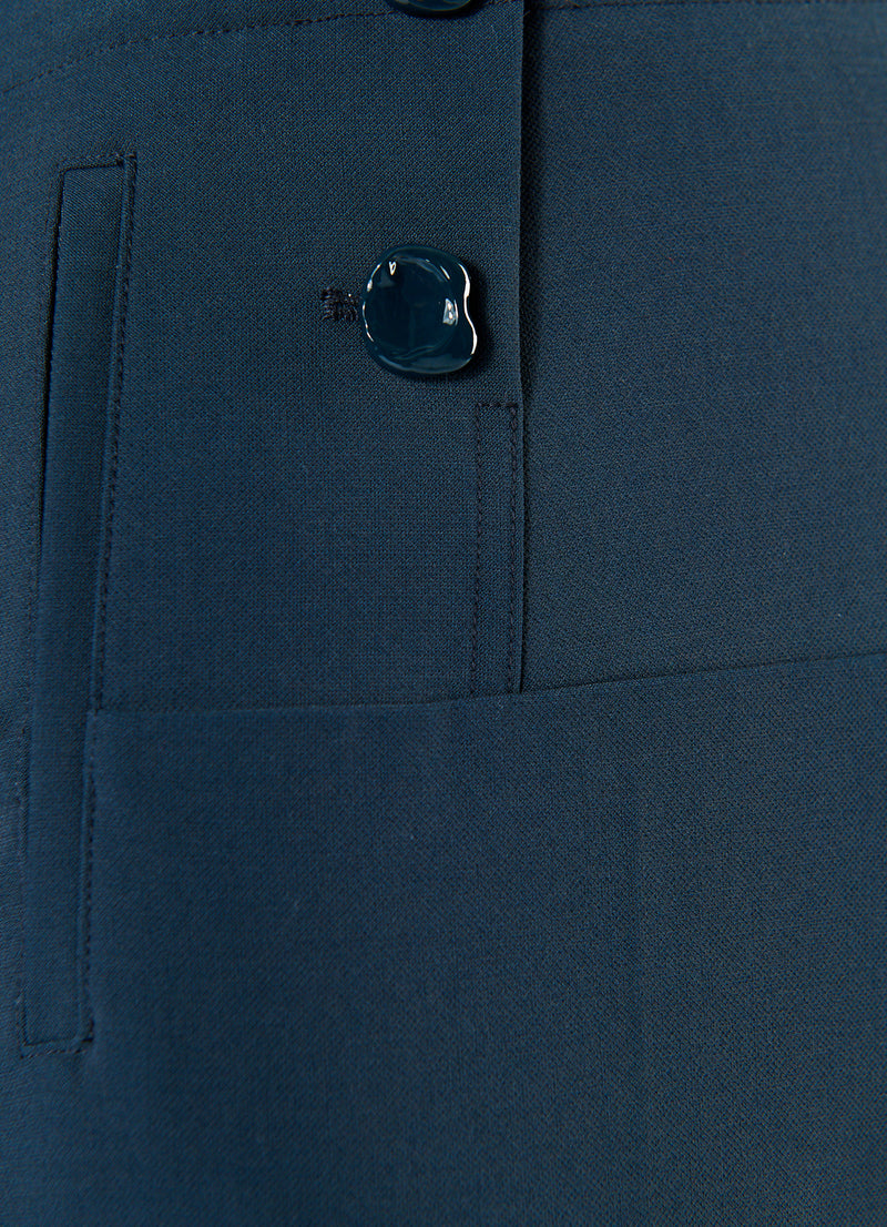 Anson Stretch Tailored Pants Prussian Blue-8