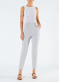 Anson Stretch Tailored Pants Storm Grey-1