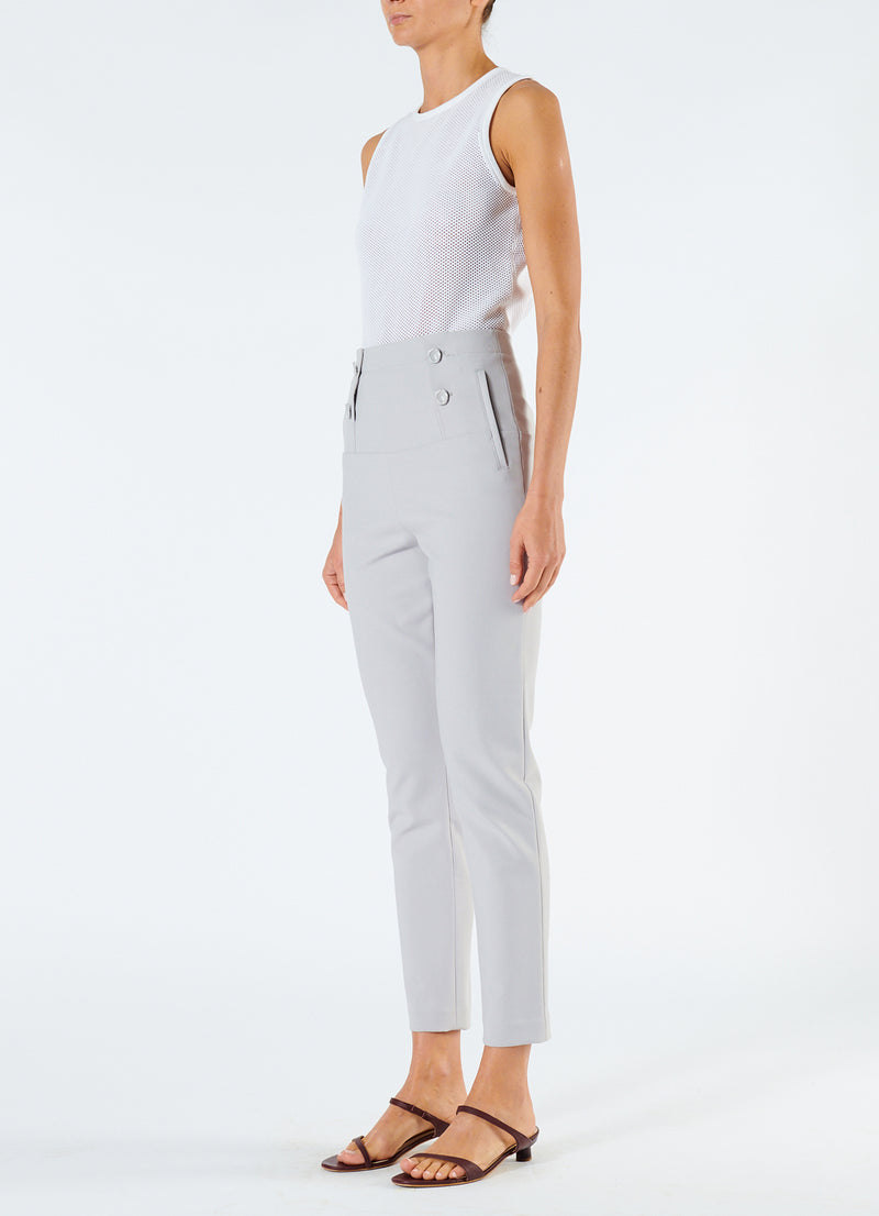 Anson Stretch Tailored Pants Storm Grey-5