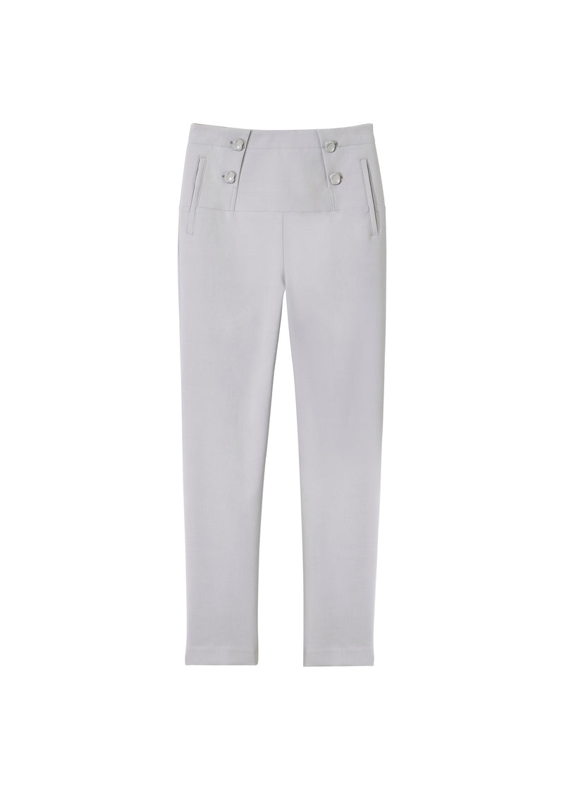 Anson Stretch Tailored Pants Storm Grey-2