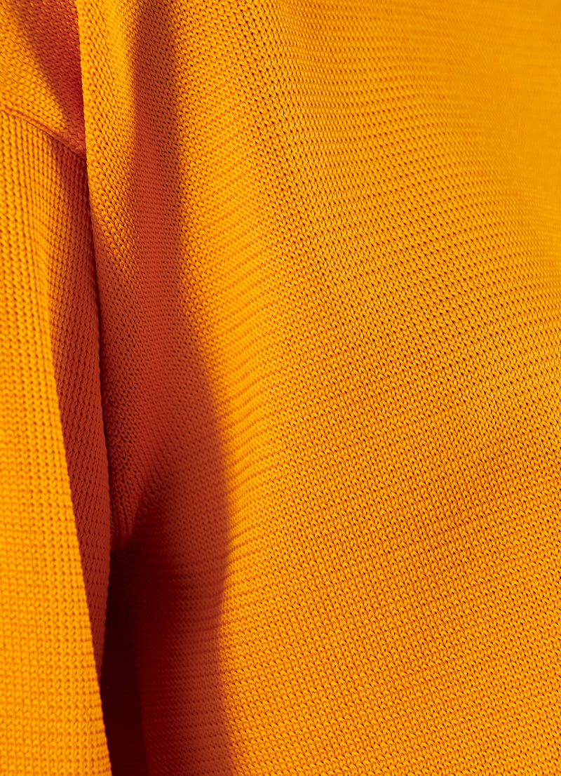 Corded Poly T-Shirt Marmalade-7