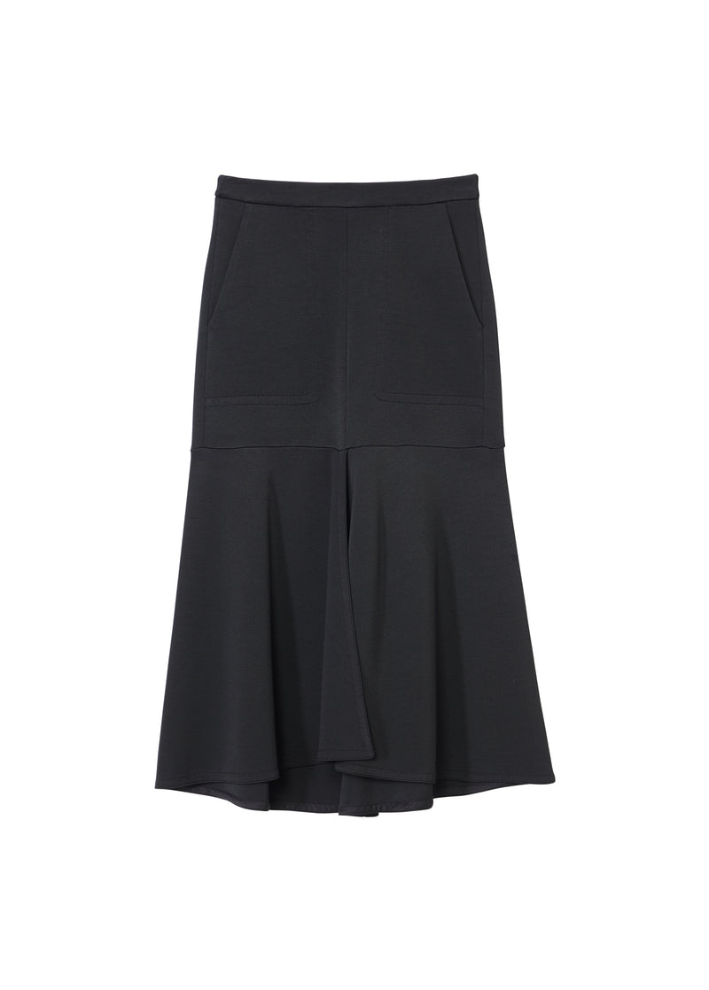 Frisse Long Skirt Black-2