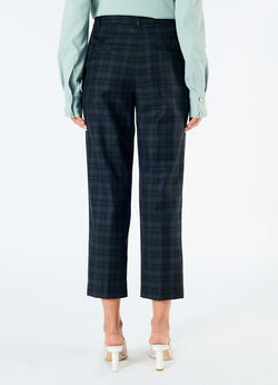 Marvel Plaid Taylor Pant Black Multi-3