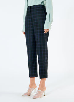 Marvel Plaid Taylor Pant Black Multi-5