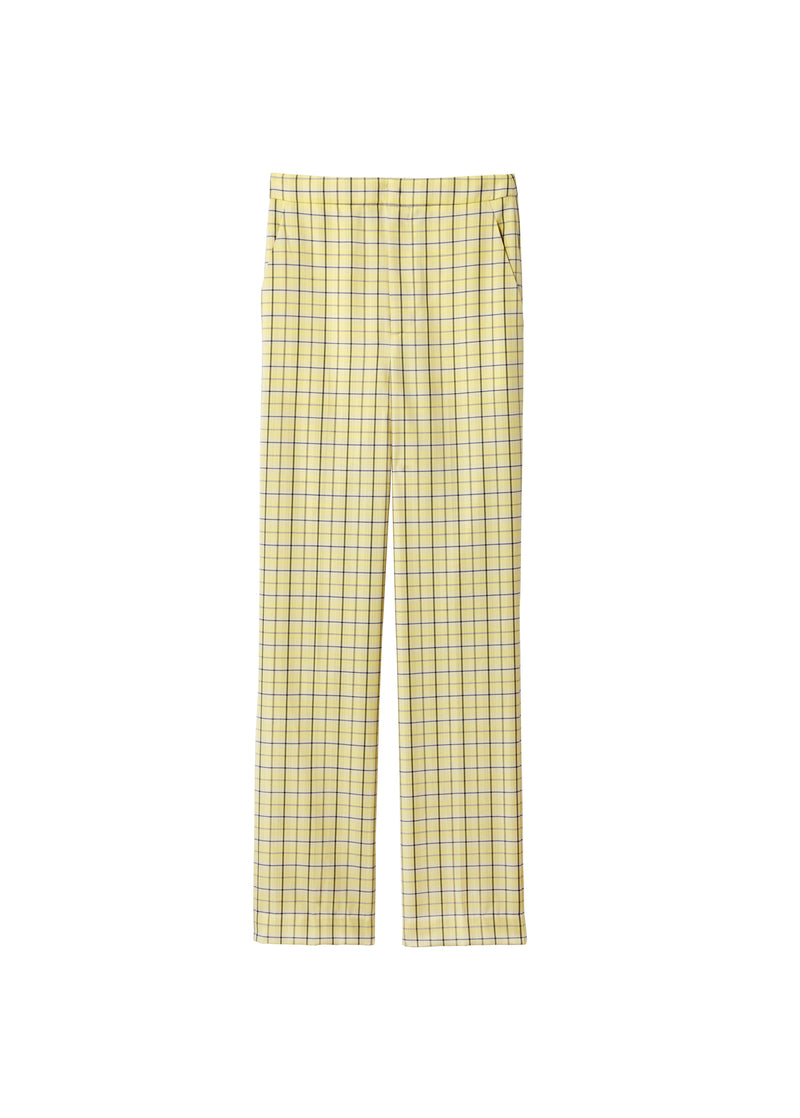 Marvel Plaid Taylor Pant Yellow Multi-2