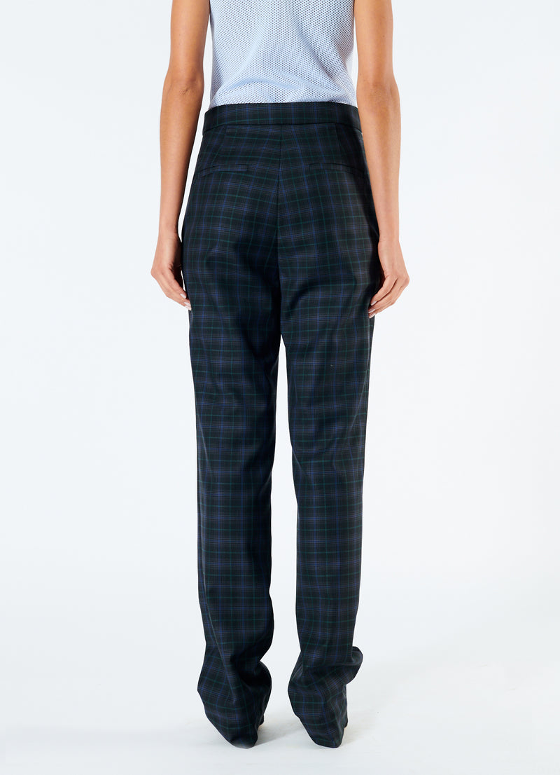 Marvel Plaid High Waisted Sebastian Pant Black Multi-3