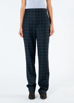 Marvel Plaid High Waisted Sebastian Pant Black Multi-4