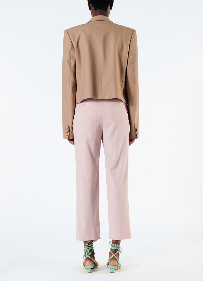 Cross Dye Wool Taylor Pant Blush-3