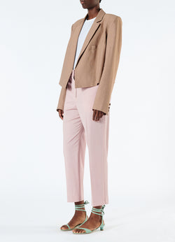 Cross Dye Wool Taylor Pant Blush-5