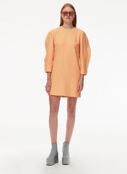 Chalky Drape Origami Sleeve Shift Dress Chalky Drape Origami Sleeve Shift Dress