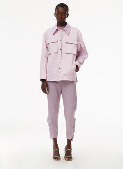 Harrison Chino Ruched Pant Lilac-13