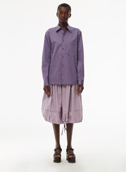 Harrison Chino Balloon Skirt Lilac-8