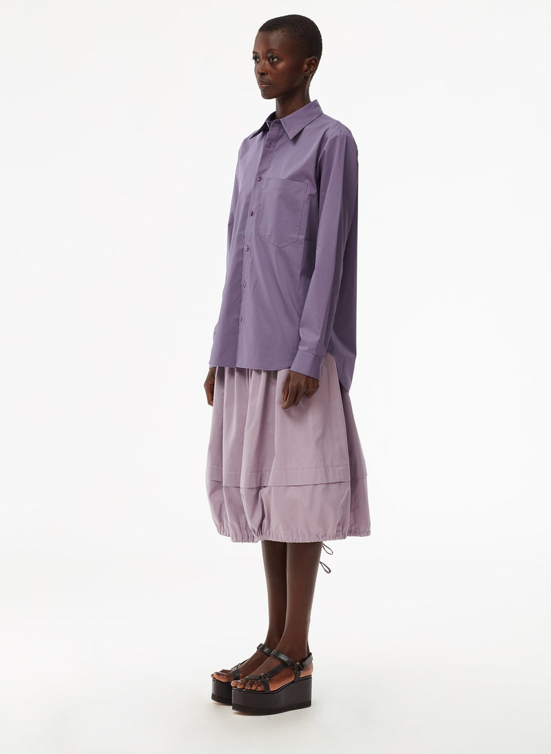 Harrison Chino Balloon Skirt Lilac-9