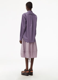Harrison Chino Balloon Skirt Lilac-10