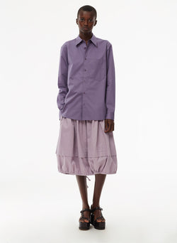 Harrison Chino Balloon Skirt Lilac-11