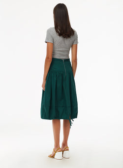 Harrison Chino Balloon Skirt Pine-3