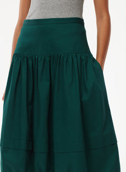 Harrison Chino Balloon Skirt Pine-4