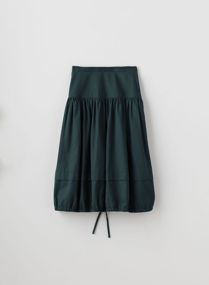 Harrison Chino Balloon Skirt Pine-7