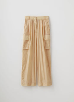 Nylon Cargo Pant Orange Sherbet-8