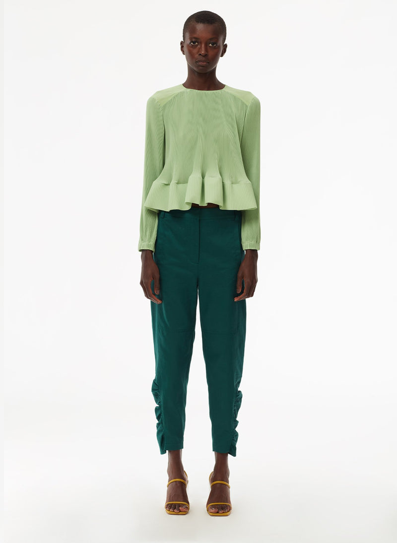 Pleated Top Mint-8