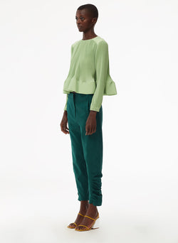 Pleated Top Mint-9