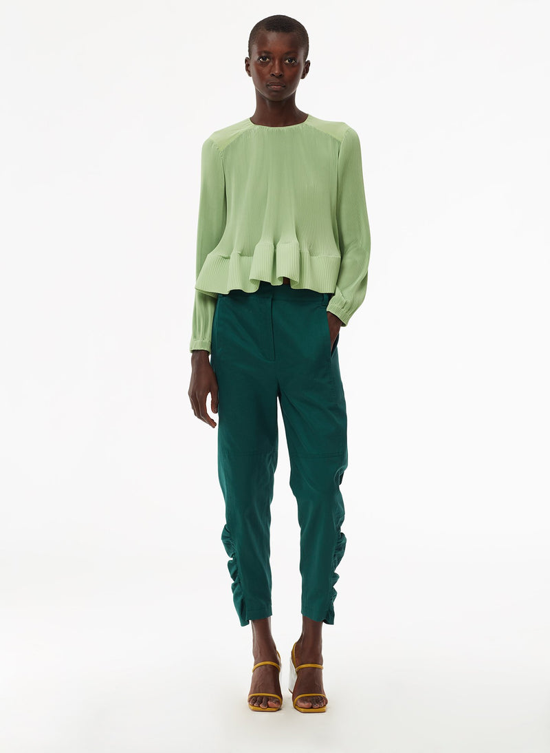 Pleated Top Mint-13