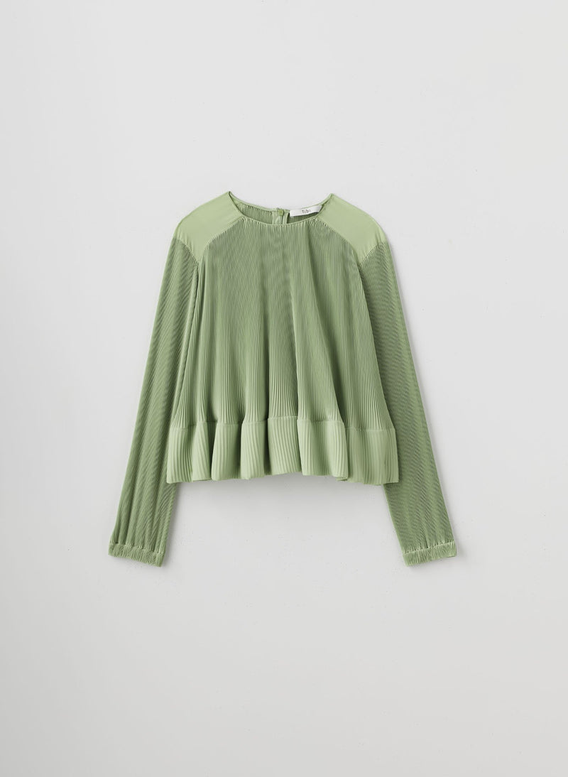 Pleated Top Mint-14