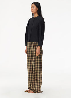 Tristan Plaid Stella Pant Brown Multi-2