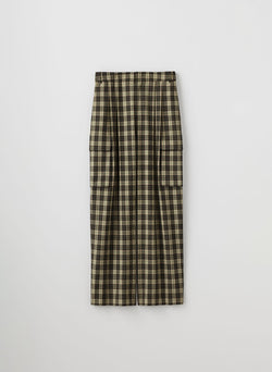 Tristan Plaid Stella Pant Brown Multi-8