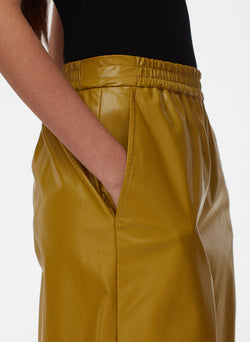 Tissue Faux Leather Long Relaxed Short Tissue Faux Leather Long Relaxed Short