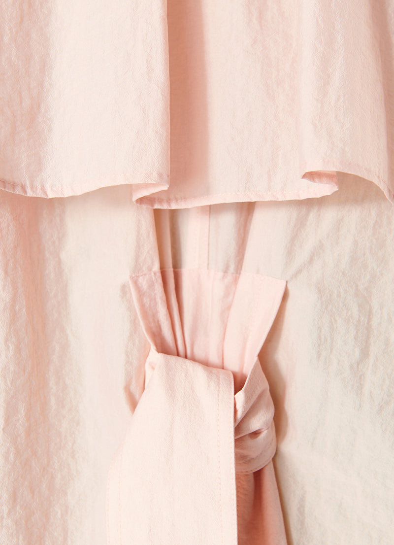 Spring Windbreaker Trench Blush-6