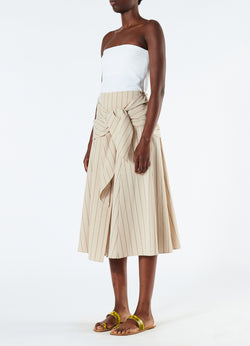 Tropical Wool Wrap Skirt Hazelwood Multi-5