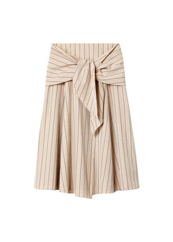 Tropical Wool Wrap Skirt Hazelwood Multi-2