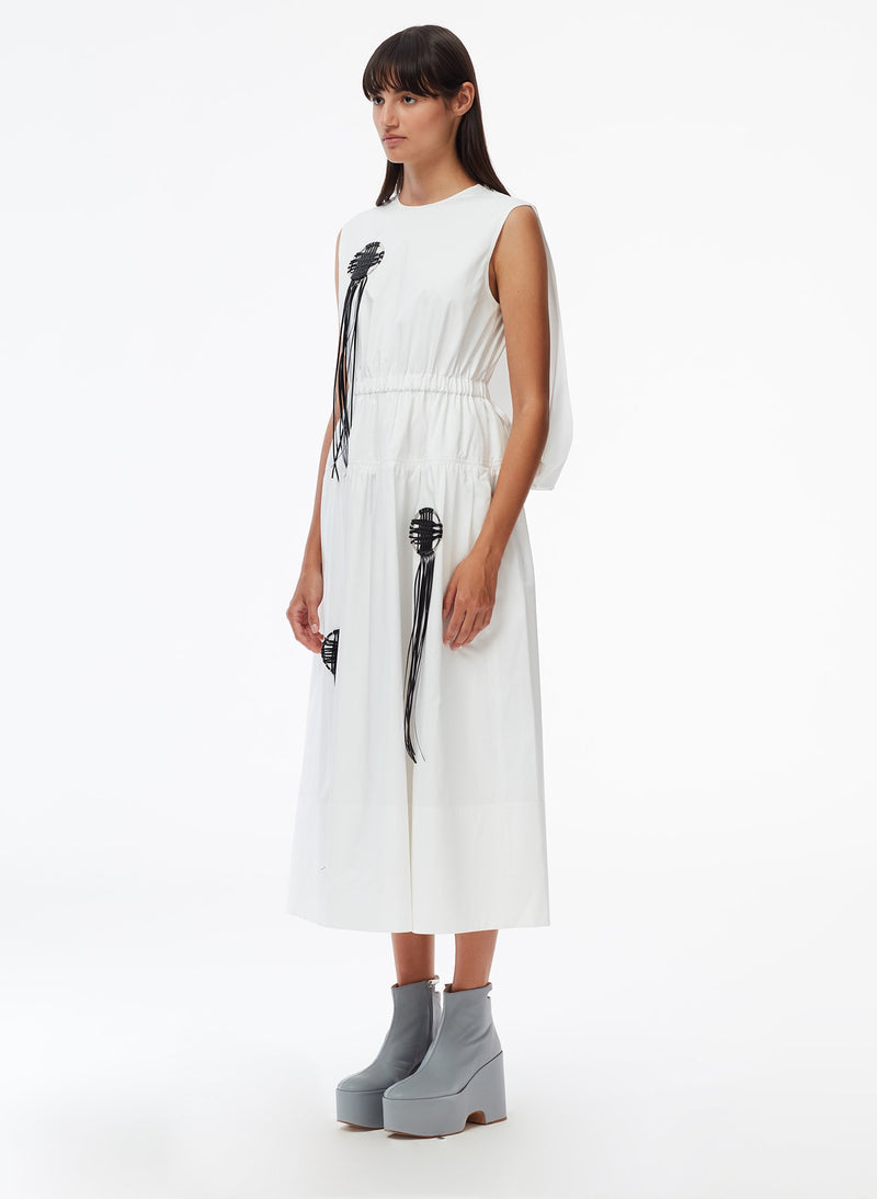 Craft Loop Dress White-2