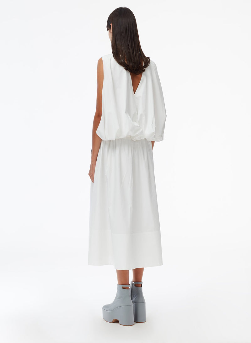 Craft Loop Dress White-3