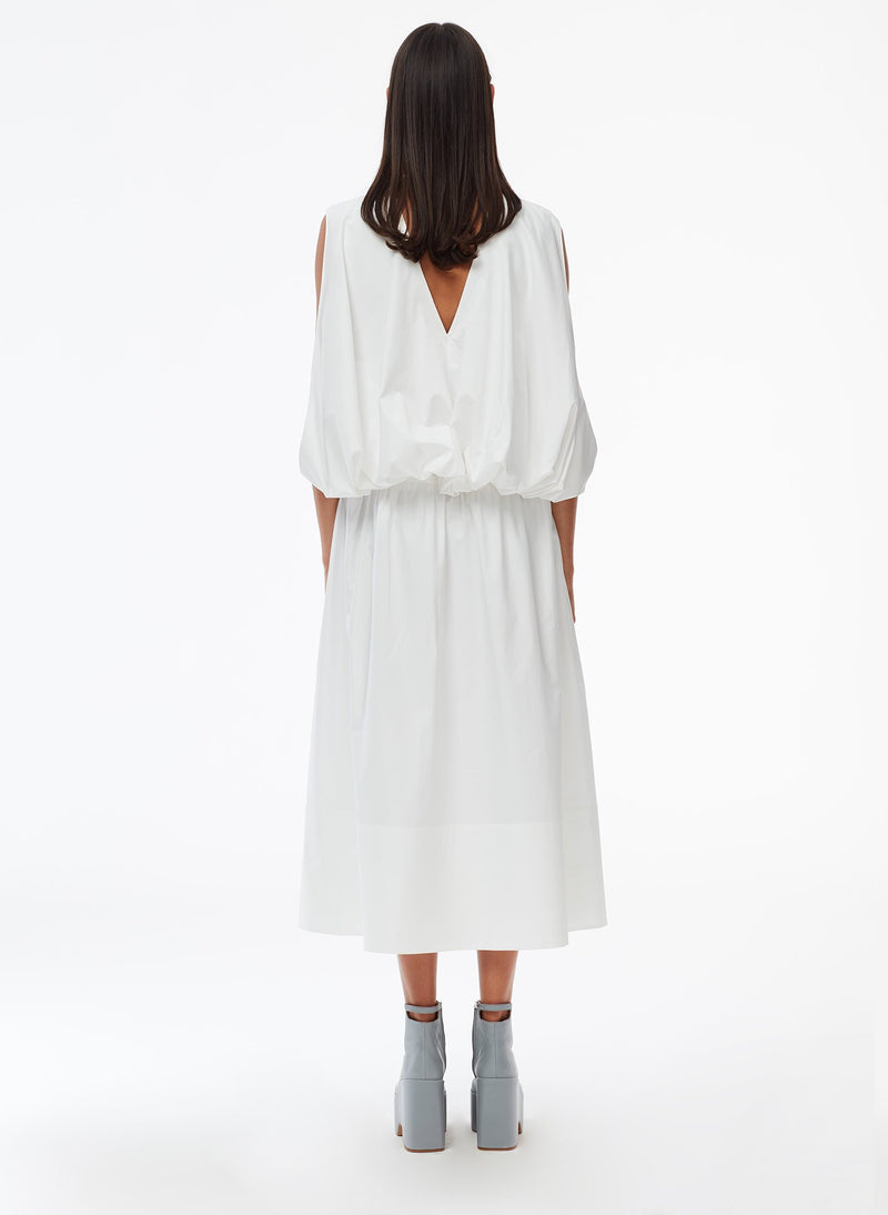 Craft Loop Dress White-4