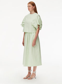 Harrison Chino Full Skirt Light Mint-2