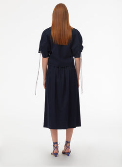 Harrison Chino Full Skirt Navy-11